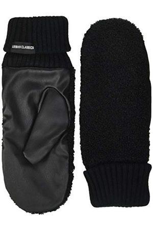 Urban classics Unisex Sherpa Imitation Leather Gloves rękawiczki zimowe