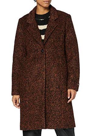 Garcia Damski płaszcz z mieszanki wełny