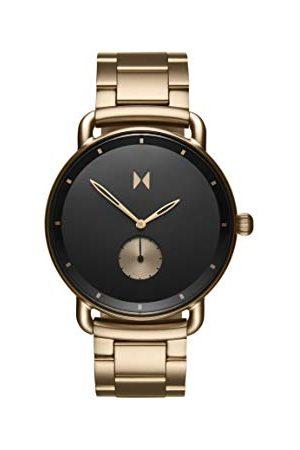 MVMT Męski analogowy zegarek kwarcowy z bransoletką ze stali szlachetnej