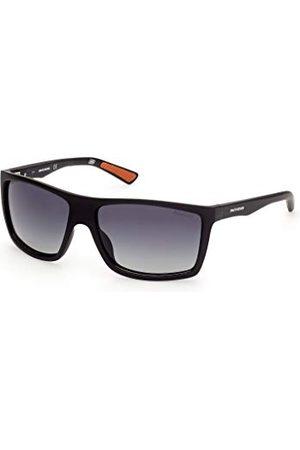 SKECHERS EYEWEAR Męskie okulary przeciwsłoneczne SE6115, matowy / , 61