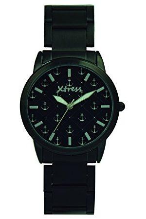 XTRESS Męski analogowy zegarek kwarcowy z bransoletką ze stali szlachetnej XNA1037-31