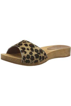 Sanita Camma Low Flex sandały damskie, wielokolorowa - Mehrfarbig Leopard 87-35 EU