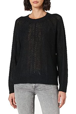 Noa Noa Damski sweter Essential Melange Mohair, z długim rękawem