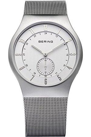 Bering Męski zegarek na rękę analogowy kwarcowy stal szlachetna 51940-000