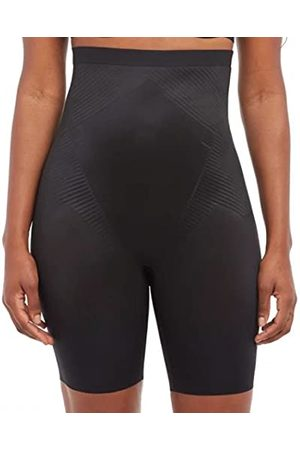 Spanx Kobieta Bielizna korygująca - Damska bielizna talia, czarna, standardowa