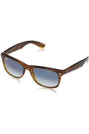 Ray-Ban Unisex Rb2132 New Wayfarer okulary przeciwsłoneczne, Striped Red Havana, 58