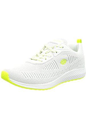 Dockers Damskie buty typu sneaker 48pr202-706597, White Neon Green - 38 EU