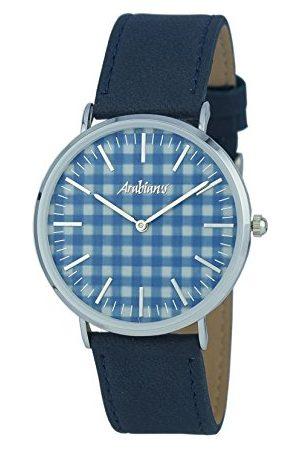 ARABIANS Męski analogowy zegarek kwarcowy ze skórzanym paskiem HBA228D