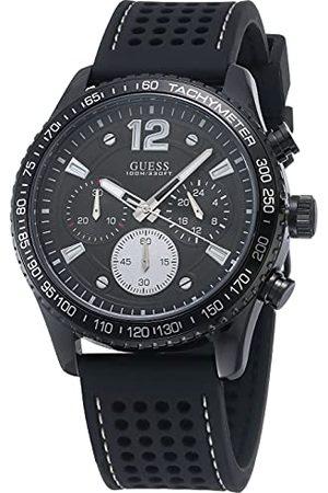 Guess Mężczyzna Zegarki - Męski zegarek na rękę Fleet bransoletka /silikon