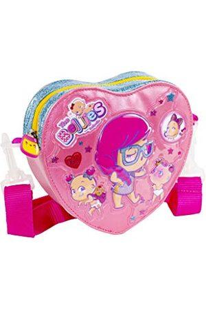 Bellies 700015962, torba na ramię w kształcie serca, dla dzieci i dorosłych, różowa