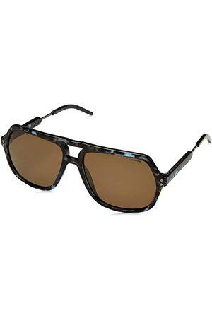 Polaroid Męskie okulary przeciwsłoneczne Pld 2035/S Ig Tqj 58, niebieskie