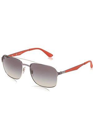 Ray-Ban Okulary przeciwsłoneczne - Unisex 0RB3570 91111 58 oprawki okularów, srebrne (srebrne/gunmetal/szare gradientowe)
