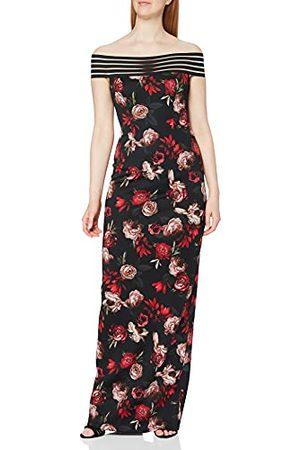 Gina Bacconi Damska sukienka koktajlowa z kwiatowym akwalungiem