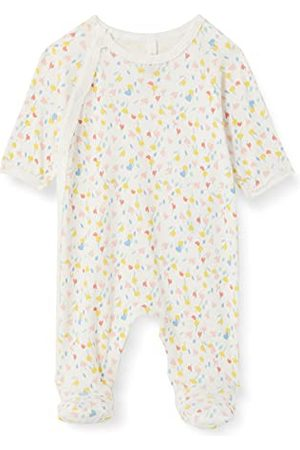 Petit Bateau Dziewczęca A00AA01 koszula nocna, Marshmallow/Multico, NAISSANCE