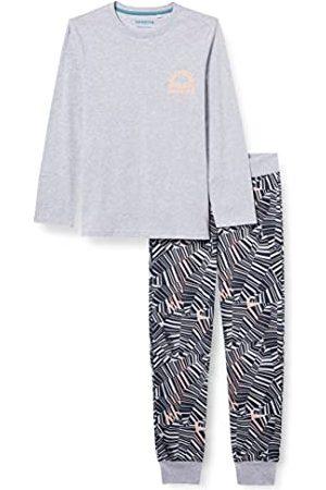 Sanetta Piżama chłopięca długa szara piżama