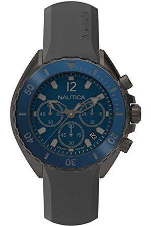 Nautica NAPNWP003 męski zegarek kwarcowy z silikonowym paskiem