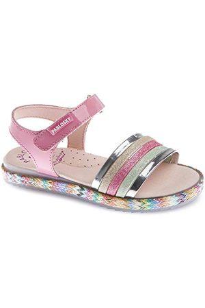Pablosky Sandały dziewczęce 482399 Peeptoe, różowy - Rosa - 28 EU