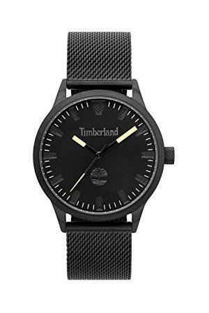 Timberland Męski analogowy zegarek kwarcowy z bransoletką ze stali szlachetnej TBL15420JSB.02MM