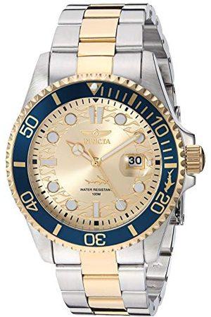 Invicta Męski analogowy zegarek kwarcowy z paskiem ze stali nierdzewnej 30022