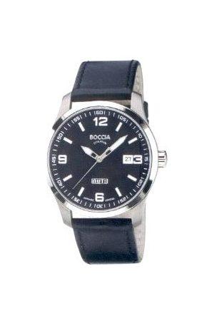 Boccia Mężczyzna Zegarki - Męski zegarek na rękę ze skórzaną bransoletką Sport 3626-02