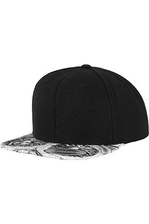 Flexfit Czapki z daszkiem - Unisex Sun King Snapback czapka z daszkiem, blk/Wht, jeden rozmiar