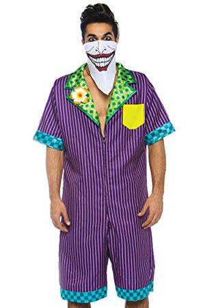 Leg Avenue Męska czapka Super Villain Jumpsuit Panama