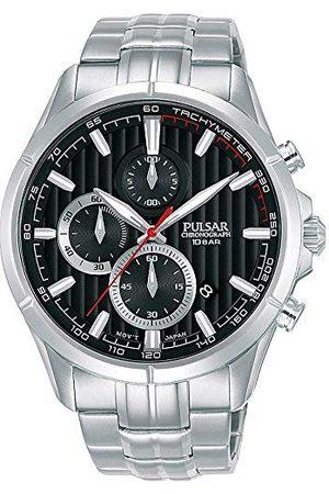 Pulsar Rally męski zegarek chronograf stal szlachetna z metalowym paskiem PM3159X1