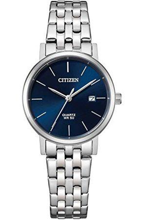 Citizen Damski analogowy zegarek kwarcowy z bransoletką ze stali szlachetnej EU6090-54A