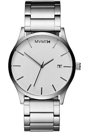 MVMT Męski analogowy zegarek kwarcowy z bransoletką ze stali szlachetnej D-L213.1B.131