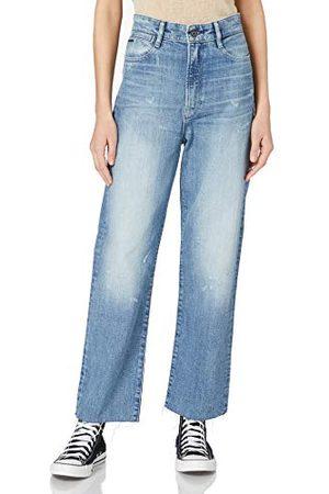 G-Star Kobieta Z wysokim stanem - Damskie jeansy Tedie Ultra High Waist Straight Ripped Ankle