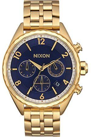 Nixon Damski chronograf kwarcowy zegarek z bransoletką ze stali szlachetnej A993-2216-00
