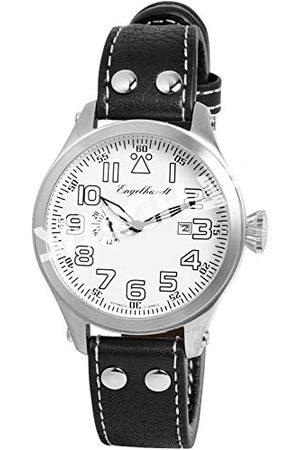 Engelhardt Męski analogowy zegarek mechaniczny ze skórzanym paskiem 388722529011