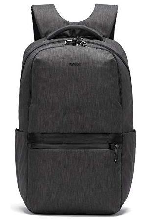 Pacsafe Męski plecak Metrosafe X antykradzieżowy 25 l - z wyściełaną torbą na laptopa 15 cali, Szarość węglowa (Szary) - 30645136