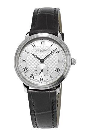 Frederique Constant Damski zegarek na rękę XS Slim Line analogowy kwarcowy skóra FC-235M1S6