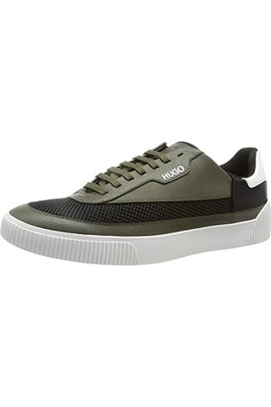 HUGO BOSS Męskie sneakersy Zero_Tenn_Loge, - Dark Green303. - 40 EU