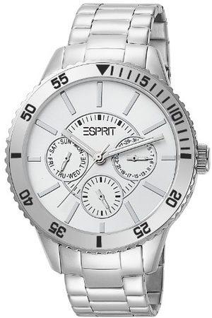 Esprit Męski zegarek na rękę XL Marin Speed Silver analogowy kwarcowy stal szlachetna ES105082005