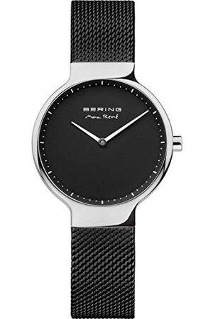 Bering Damski analogowy zegarek kwarcowy z bransoletką ze stali szlachetnej 15531-102