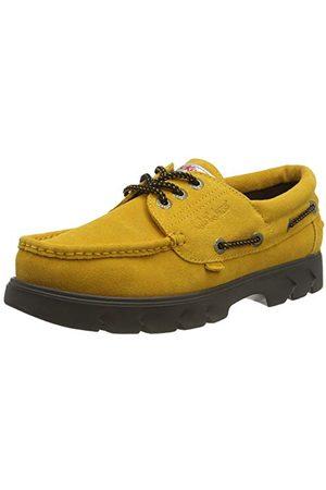 Kickers Obuwie - Unisex Lennon buty do łodzi zamszowe buty do łodzi, Żółta musztardowa żółta żółta - 39 EU