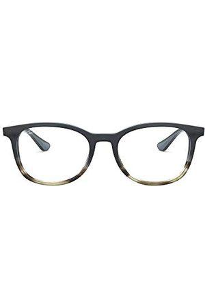 Ray-Ban Mężczyzna Okulary przeciwsłoneczne - Unisex dla dorosłych 0RX 5356 5766 52 oprawki okularów, szare (gradient Grey On Spped Grey)