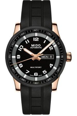 MIDO Męski zegarek na rękę XL Multifort analogowy automatyczny kauczuk M0054303705780