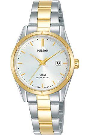 Pulsar Kobieta Zegarki - Kwarcowy zegarek damski stal szlachetna z metalowym paskiem PH7474X1