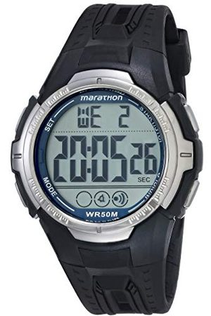 Timex Mężczyzna Zegarki - Męski zegarek na rękę - T5K359 maraton cyfrowy kwarcowy