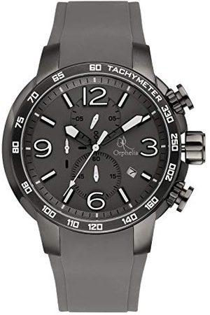 ORPHELIA Mężczyzna Zegarki - Męski zegarek na rękę East End analogowy kwarcowy silikon OR32690888