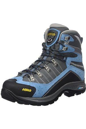 Asolo Damskie buty trekkingowe Drifter Gv Evo Ml High Rise, niebieskie (Azure/Stone A173), 6 UK