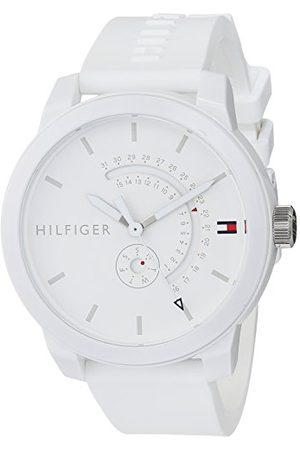 Tommy Hilfiger Zegarki - Unisex-dorosły analogowy klasyczny zegarek kwarcowy z paskiem silikonowym 1791481