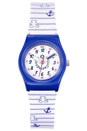 Lulu Castagnette Męski analogowy zegarek kwarcowy z bransoletką z tworzywa sztucznego 38774