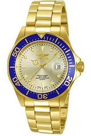 Invicta 14124 Pro Diver unisex zegarek stal szlachetna kwarcowy złoty cyferblat