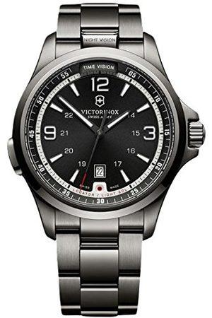 Victorinox Męski analogowy zegarek kwarcowy z powłoką ze stali szlachetnej 241665