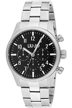 Liu Jo Męski chronograf zegarek kwarcowy z bransoletką ze stali szlachetnej LJW-TLJ1234