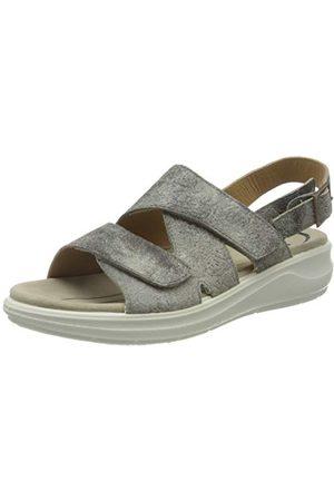 Jomos Abano sandały damskie z zapięciem typu Slingback, srebrny - Srebrno- 52 205-38 EU